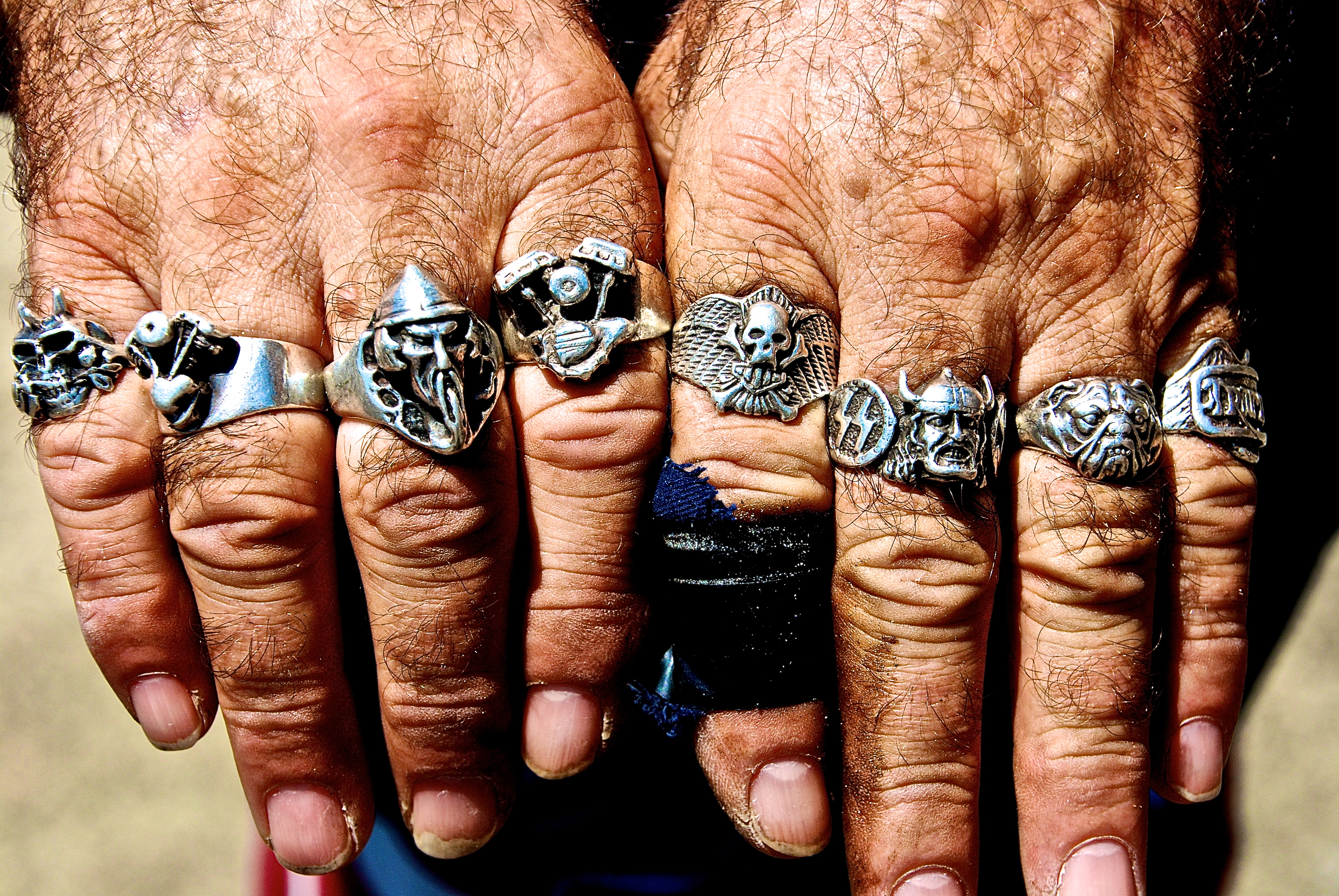 Hand Man Rings Images